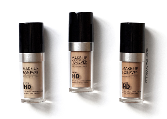 Make Up For Ever Ultra HD Invisible Cover Foundation Review Y225 Y315 Y415