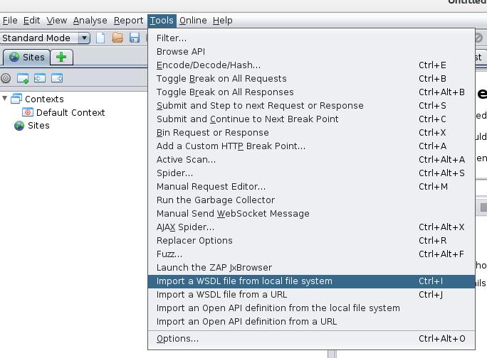 ZAP Blog: Exploring APIs with ZAP