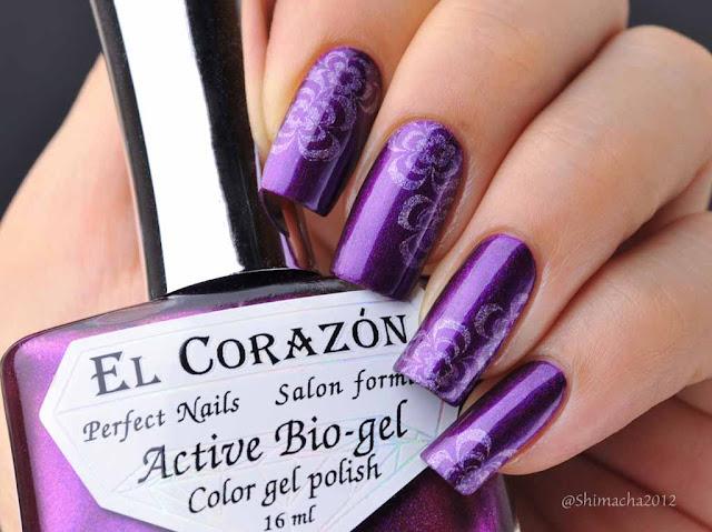El Corazon: No.423/628 Black Sabbath (Nail Party Collection)