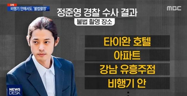 MBC revela detalles sobre cuándo y dónde Jung Joon Young tomó videos de cámara oculta + su reacción