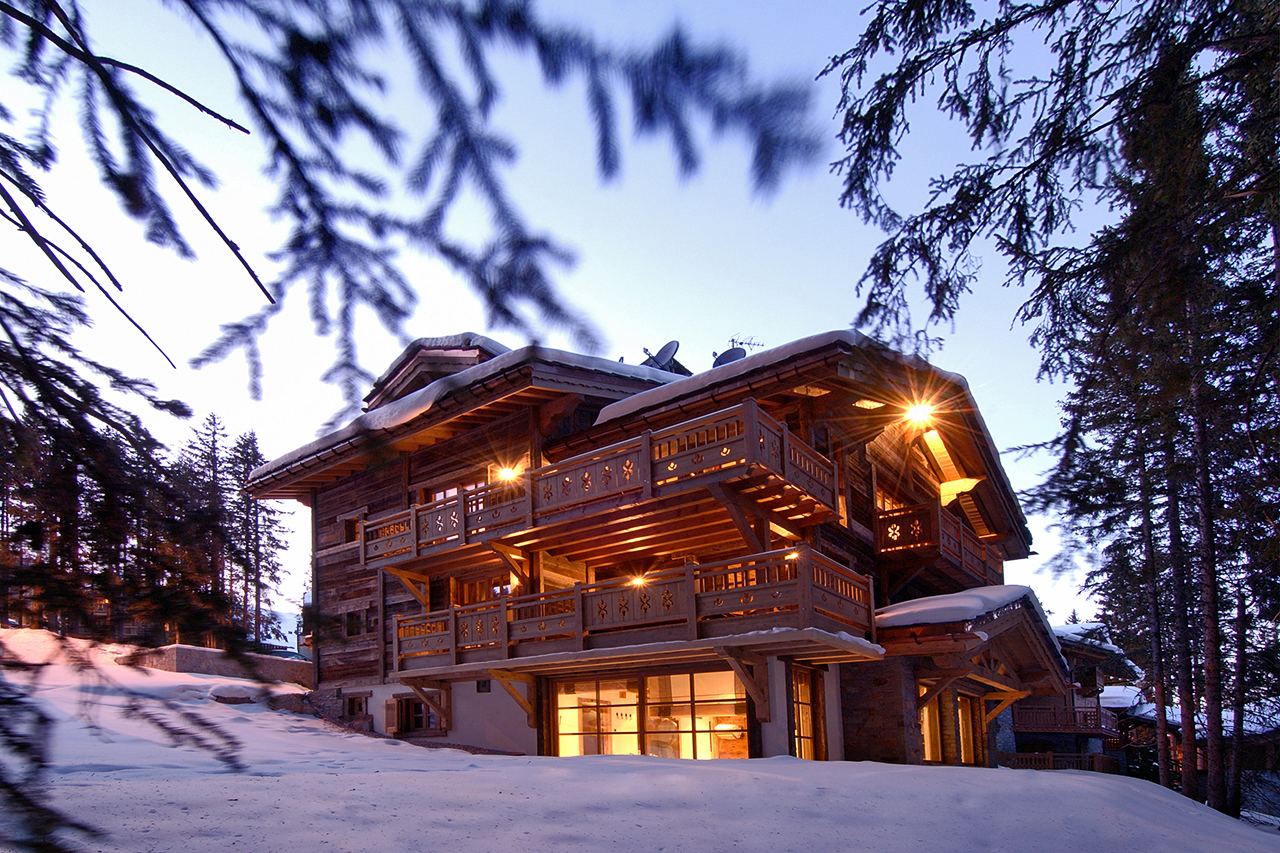 Passion for luxury : chalet la grande roche courchevel 1850
