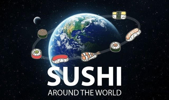 Image: Sushi Around the World #infographic