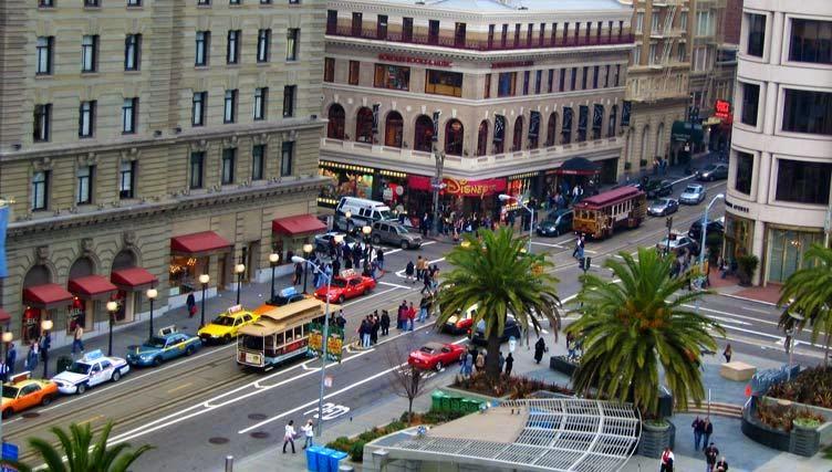 Compras no Union Square em San Francisco