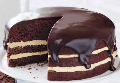 Cara Membuat Kue Bolu Coklat Panggang Lembut