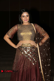 Actress Anchor Sri Mukhi Pictures at Araku Road Lo Audio Launch 0118