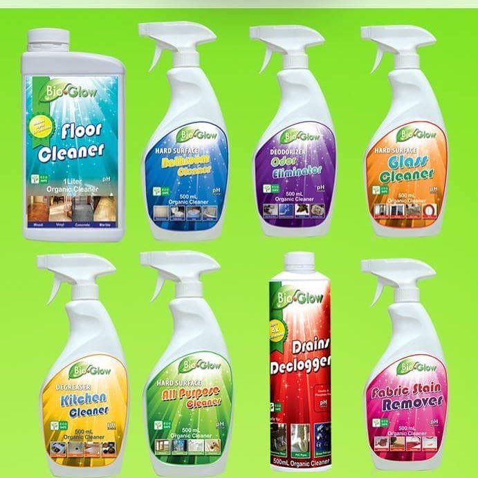 I Received 5 Bottles Odor Eliminator Kitchen Cleaner Bathroom Floor And All Purpose The We Used Most Were