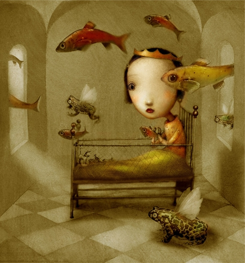 14-Nicoletta-Ceccoli-Surreal-Fairy-Tales-NOT-for-Children-www-designstack-co