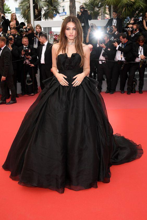 Thylane Blondeau in Alberta Ferretti Gown - Image 20