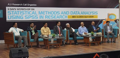JLU's Research Cell hosts 3 Days Workshop on 'Data Analysis in SPSS'