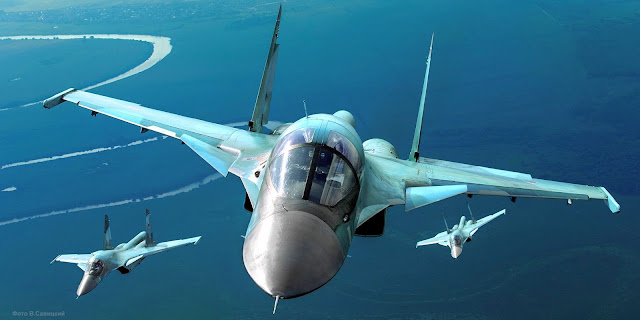 Image Attribute: Russian Air Force Sukhoi Su-34s / Source: Mil.ru (Creative Commons)