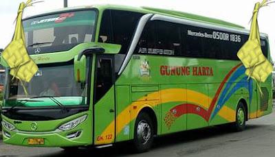harga tiket mudik lebaran 2017 bus gunung harta malang, surabaya, ponorogo, denpasar, blitar