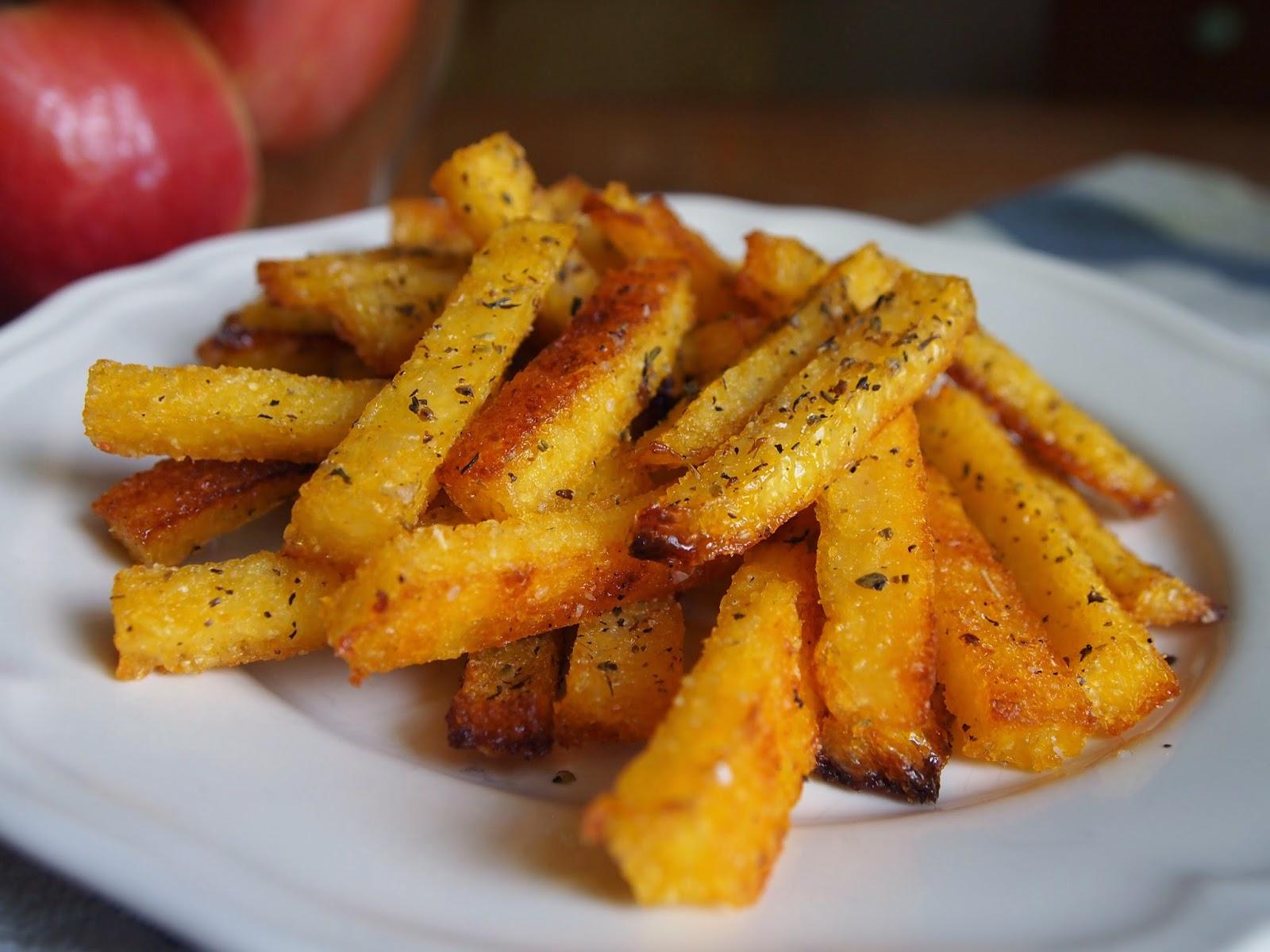 P B and J Eats: Baked Polenta Fries
