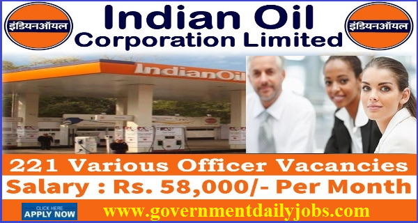 IOCL RECRUITMENT 2017 APPLY FOR 221 VACANCIES FOR ENGINEER