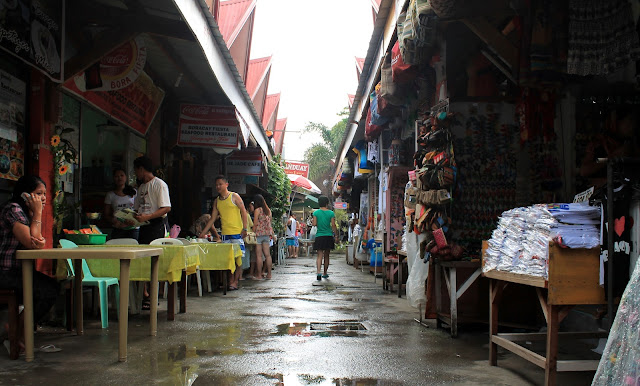 D'Talipapa, the market on Boracay in the Philippines