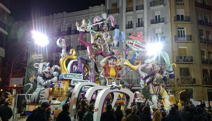 Falla 2015 Reino de Valencia-Duque de Calabria.