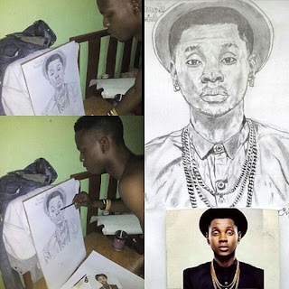 Check Out These Lovely Portraits Of Kiss Daniel Painted By A Fan