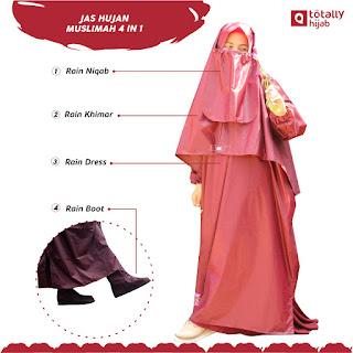 Jas Hujan Muslimah Terbaik