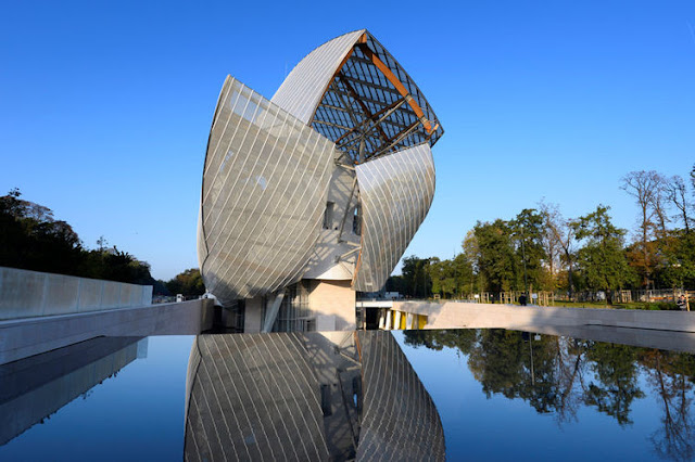 Coleções de arte do Fondation Louis Vuitton em Paris