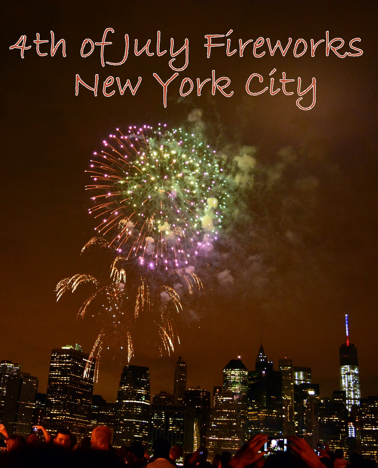Mille Fiori Favoriti: 4th of July Fireworks in New York City!