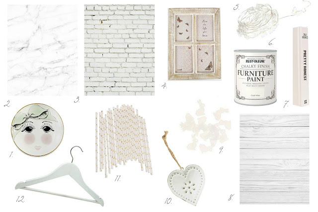 My favourite shabby chic blog photo prop ideas
