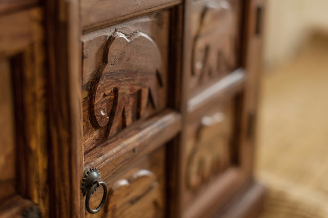 Hathi carvings - Wooden Furniture Care