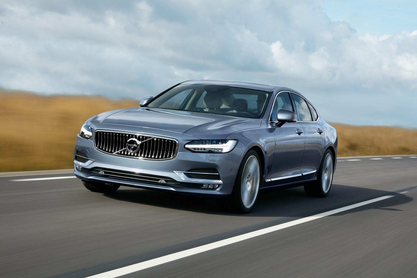 Πανελλήνια πρεμιέρα για το νέο Volvo V90 στην «Αυτοκίνηση 2016»