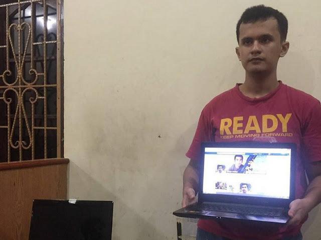 Tampang 'Ringgo' yang Hina Jokowi dan Kapolri Saat Diciduk