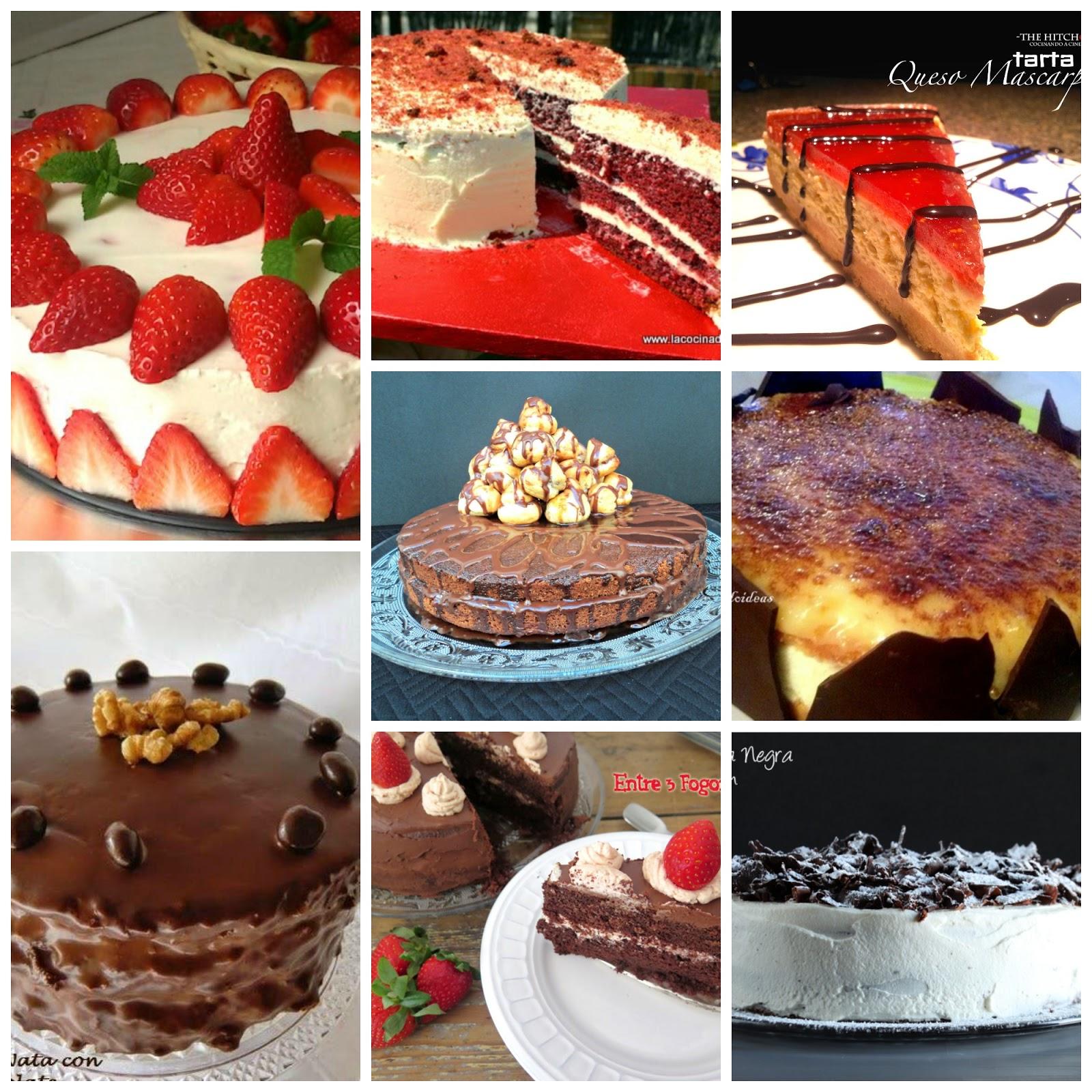 tartas para un cumpleaos especial