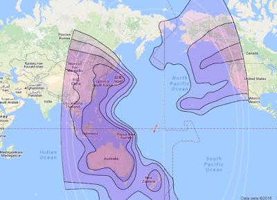 Satelit Eutelsat 172A 172.0°E CBand