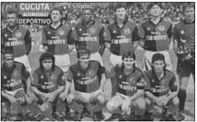 Cronicas De Cucuta 260 Nominas Del Cucuta Deportivo 1928 2009