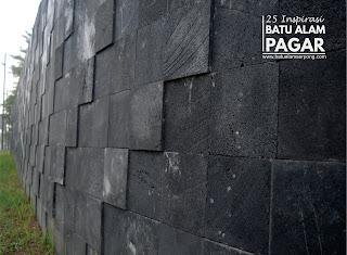 jual batu alam untuk dinding pagar
