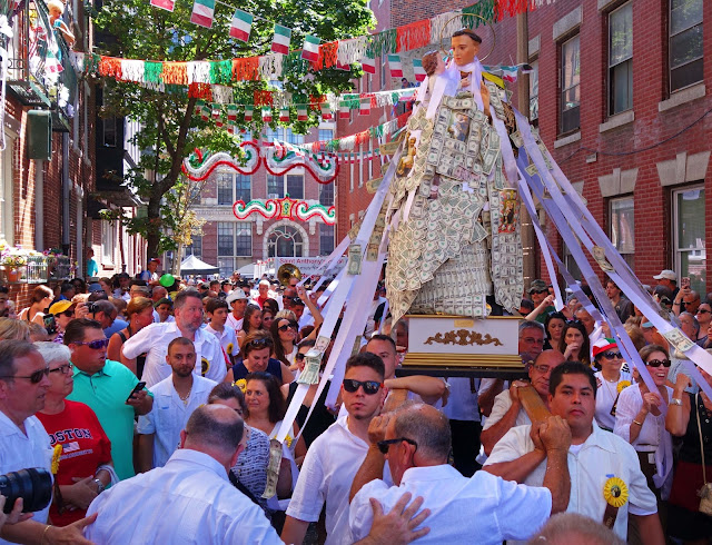 Beautiful Day In Neighborhood >> Joe's Retirement Blog: Saint Anthony Religious Festival, Part 2, North End Neighborhood, Boston ...