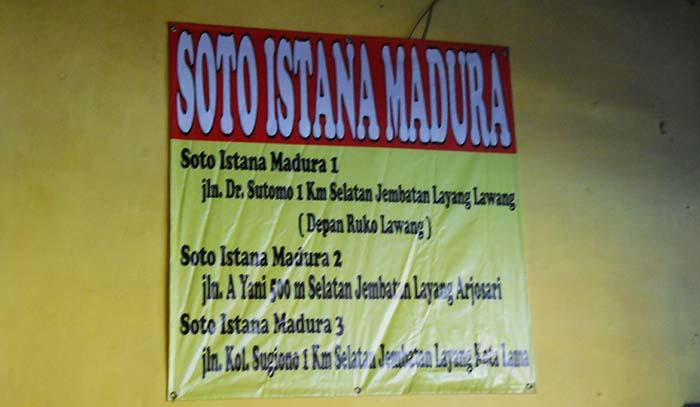 Alamat Soto Istana Madura
