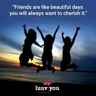 Nice friendship day status