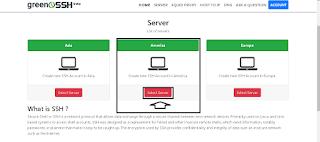 pilih server america