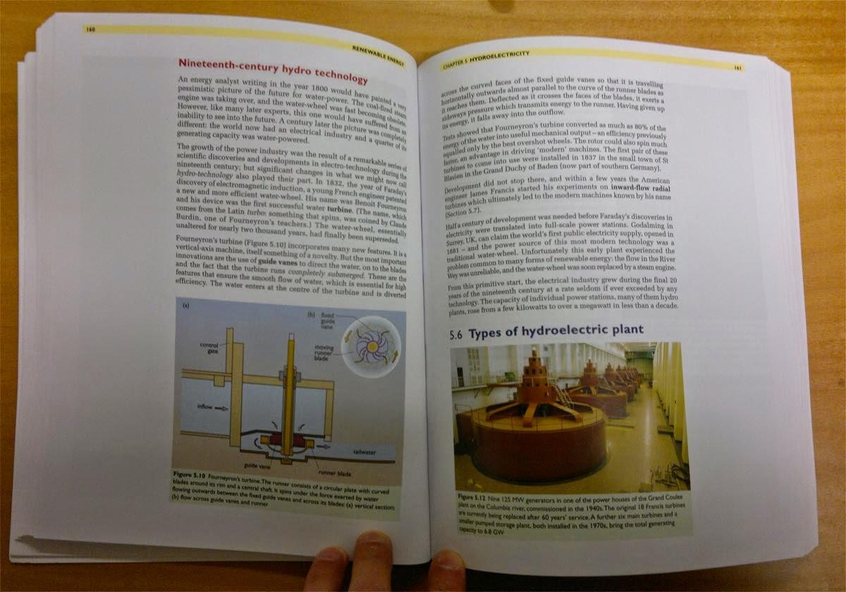 Texten är på engelska. Här hydroelectric plant.