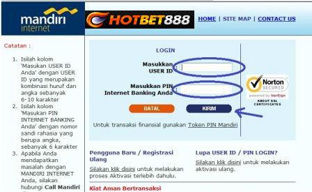 Akew Herwansyah: CARA DAFTAR INTERNET BANKING MANDIRI