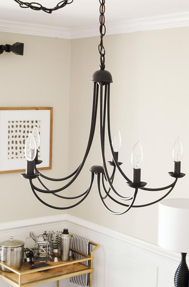 Classic dining room light