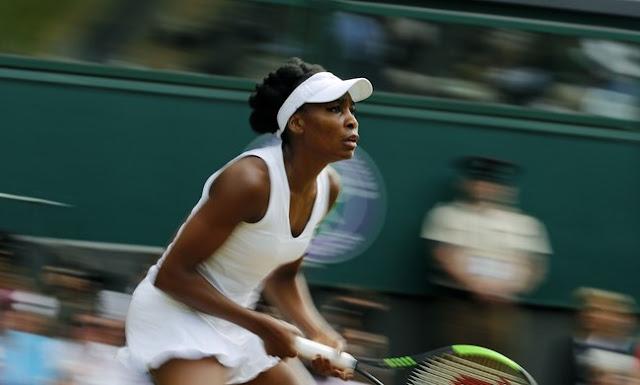 Venus Williams está dominando Wimbledon