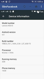 Lenovo K3 Note MArsmallow ROM screen shot 1