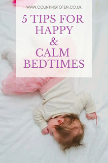 5 Tips for Happy and Calm Bedtimes
