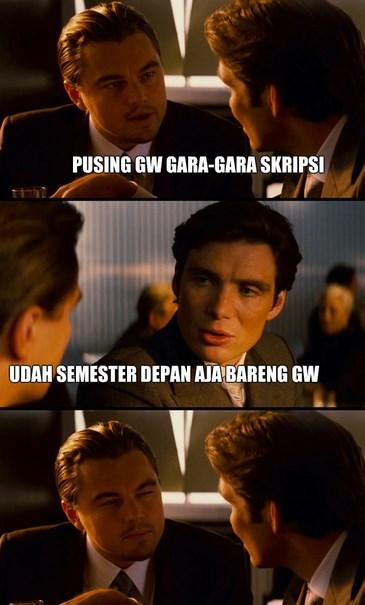 gambar humor meme Skripsi ditolak lucu comic indonesia mahasiswa gambar humor meme Skripsi ditolak lucu tentang ip mahasiswa