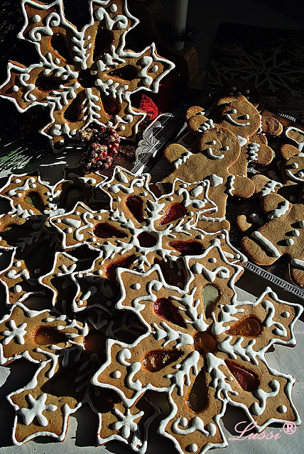 Джинджифилови сладки Снежинки / Gingerbread cookies Snowflakes