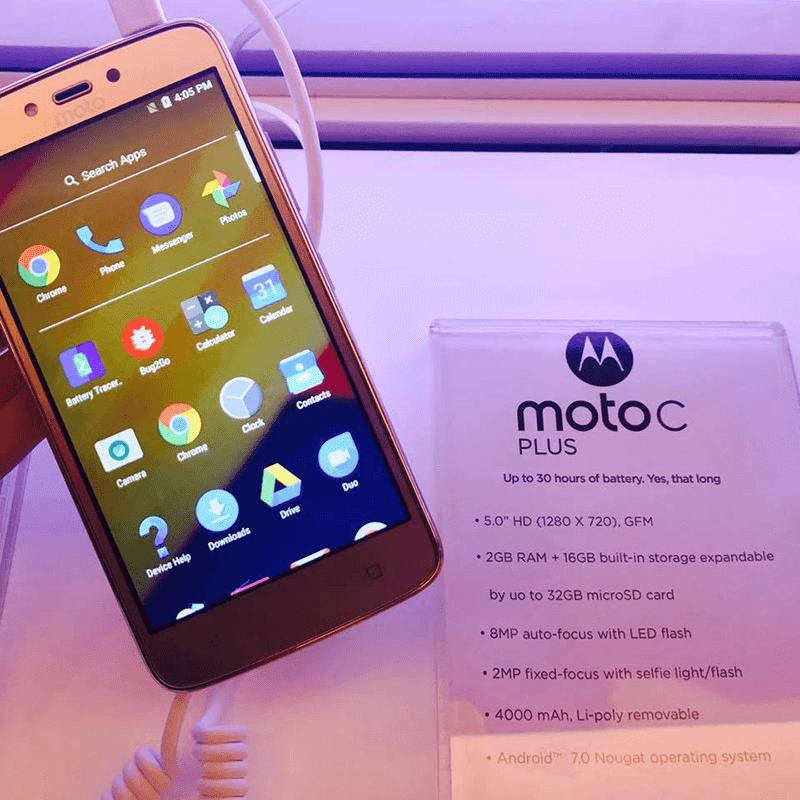 Motorola Launches Moto C Plus With 4000 mAh Battery In PH For PHP 6299