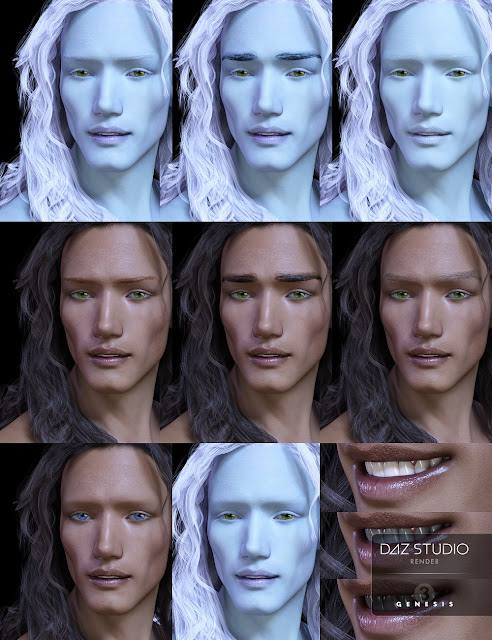 Damen for Genesis 3 Male