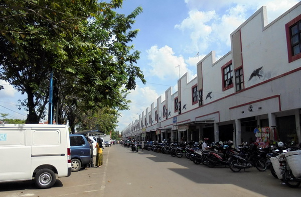 Parkir Pasar Tumenggungan Dikelola Pihak Ketiga