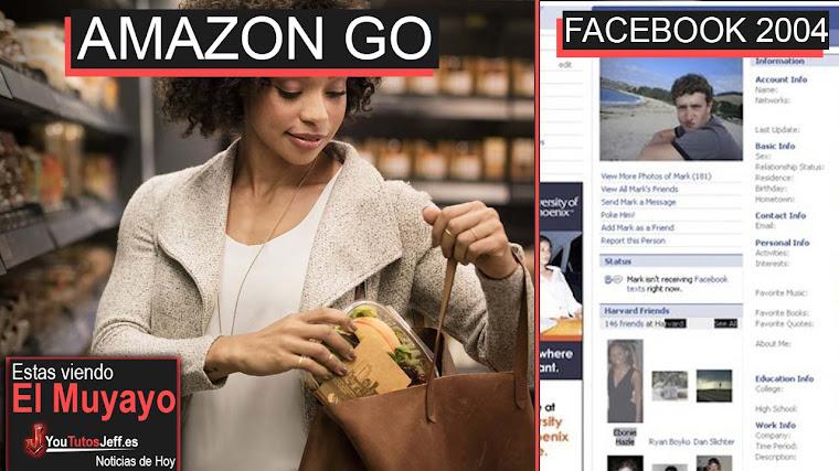 Amazon Go Primera tienda física de Amazon sin cajas, Facebook 2004, Whatsapp, Aplicación | El Muyayo