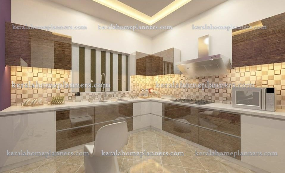 Latest modern kitchen designs from akathalam interiors for Modern kitchen designs in kerala