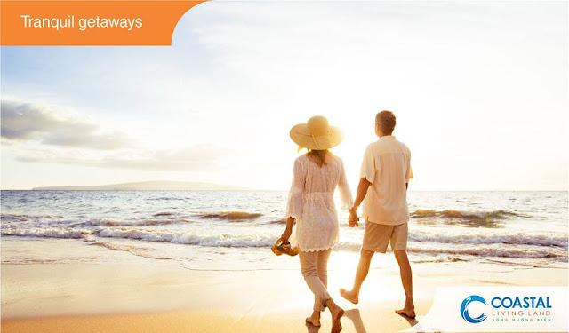 Dạo biển với người thân yêu tại Hồ Tràm Vũng Tàu