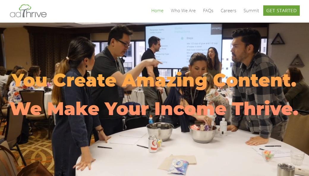 AdThrive – US Based legit Ad network